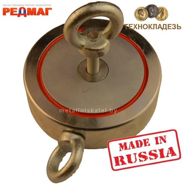 Поисковый магнит Редмаг двухсторонний F600x2 кг