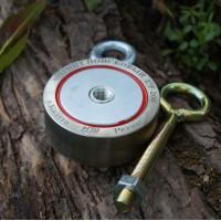 Поисковый магнит Редмаг двухсторонний F200x2 кг