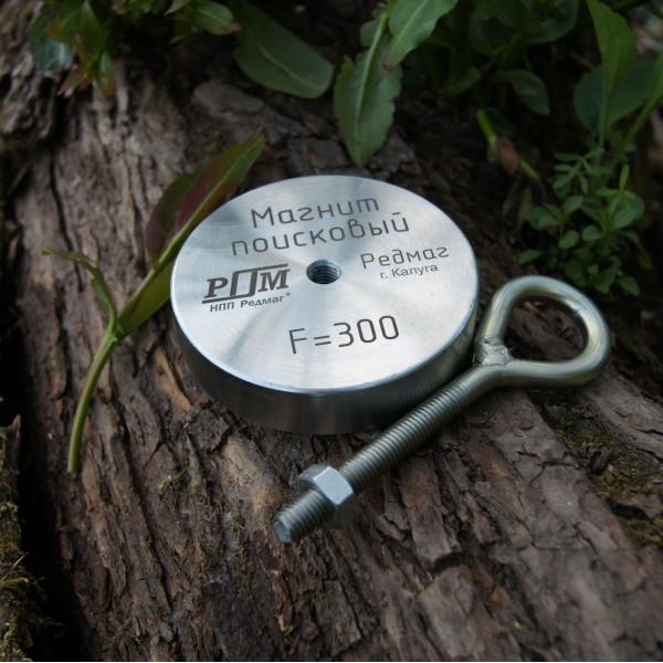 Поисковый магнит Редмаг односторонний F300 кг