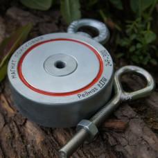 Поисковый магнит Редмаг двухсторонний F300x2 кг