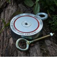 Поисковый магнит Редмаг двухсторонний F400x2 кг